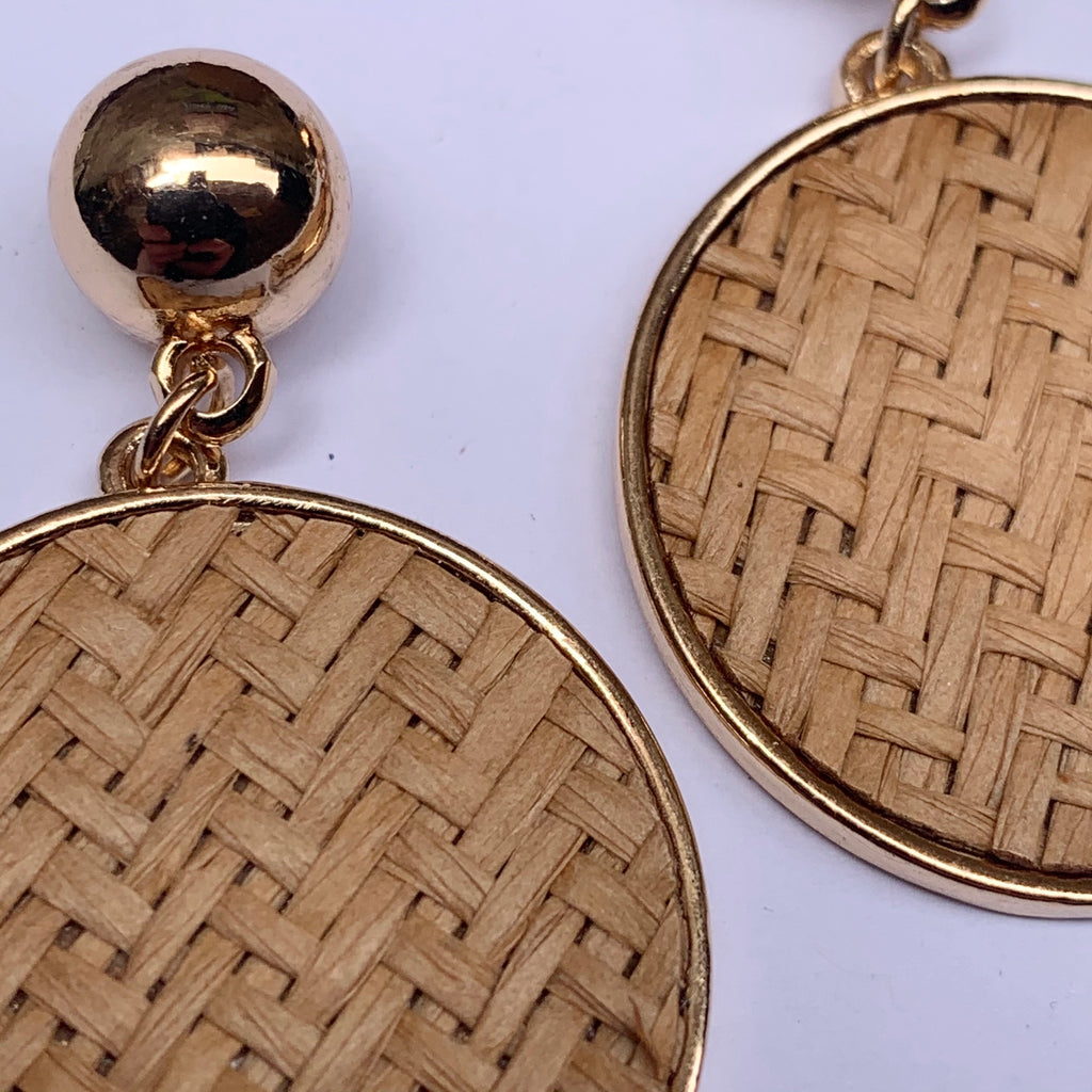 Wanda Woven Earrings
