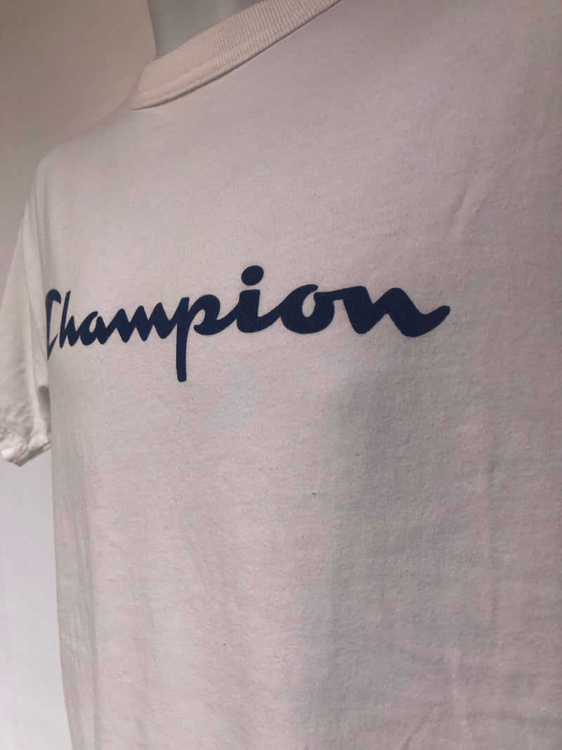 White Champion T-Shirt - AS IS - Pilling