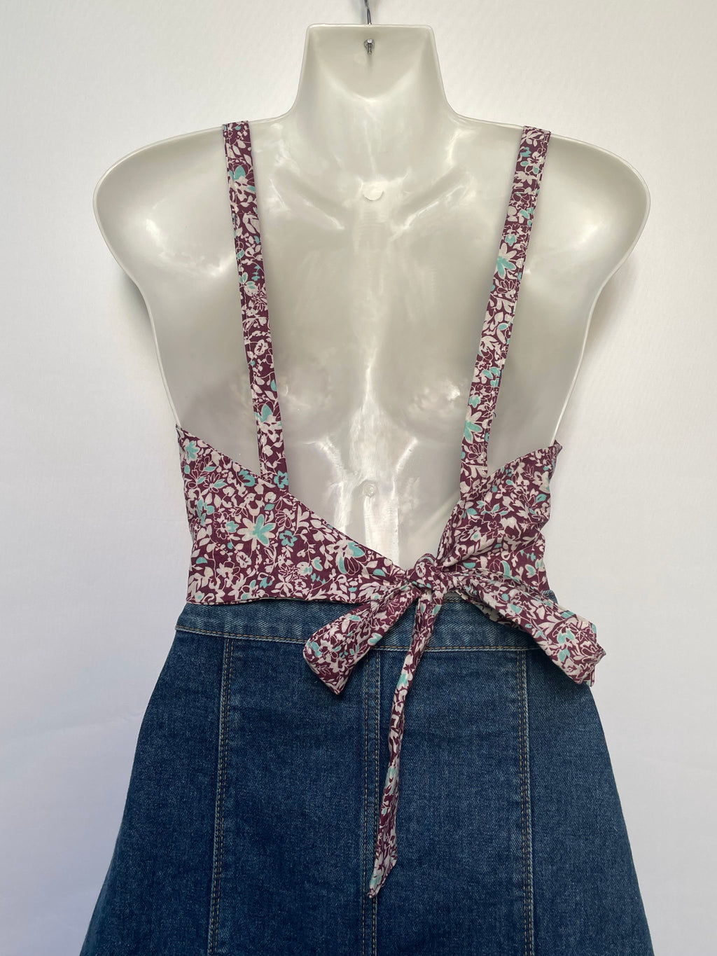 Cranberry Crop Top