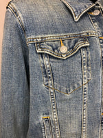 Levi Strauss Cropped Denim Jacket