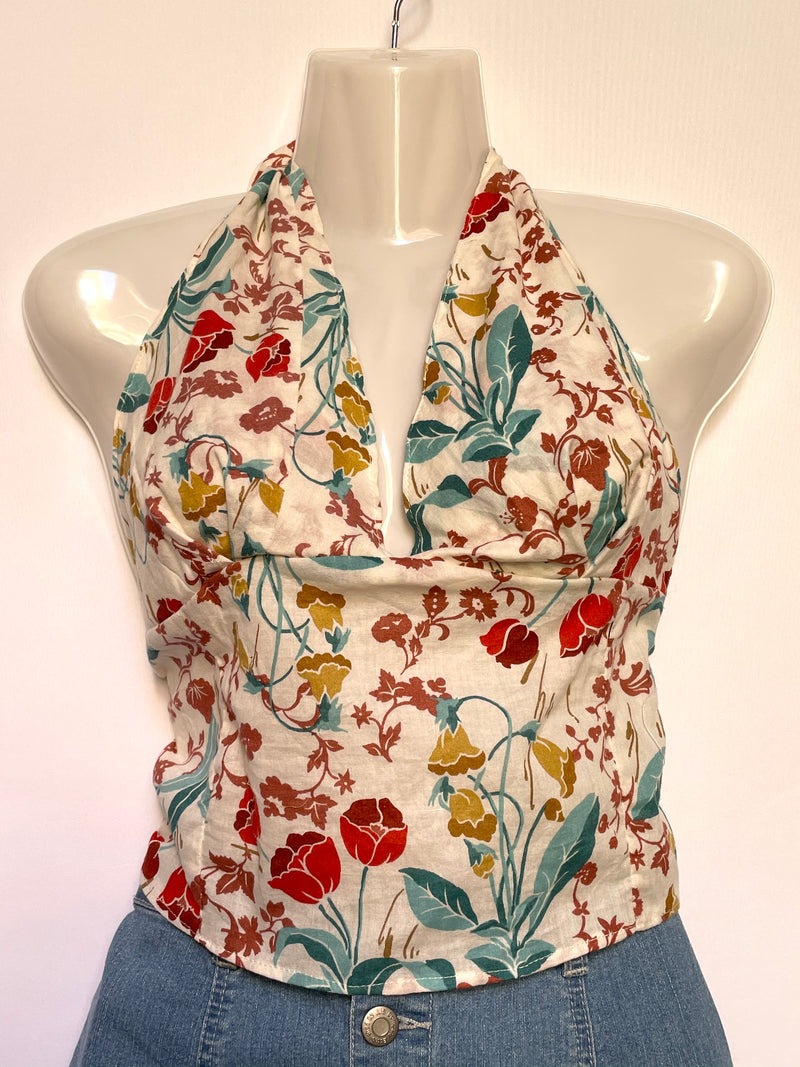 Water Lily Halter Top