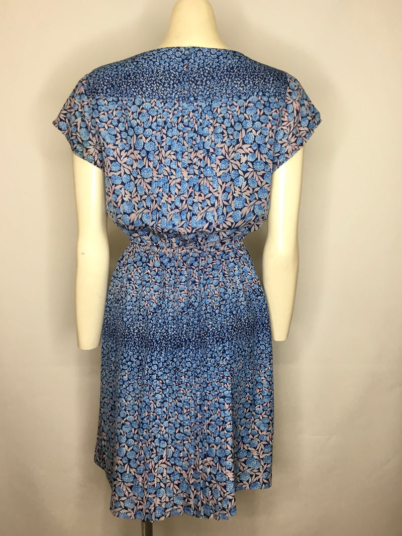 Blue Forget Me Not Dress