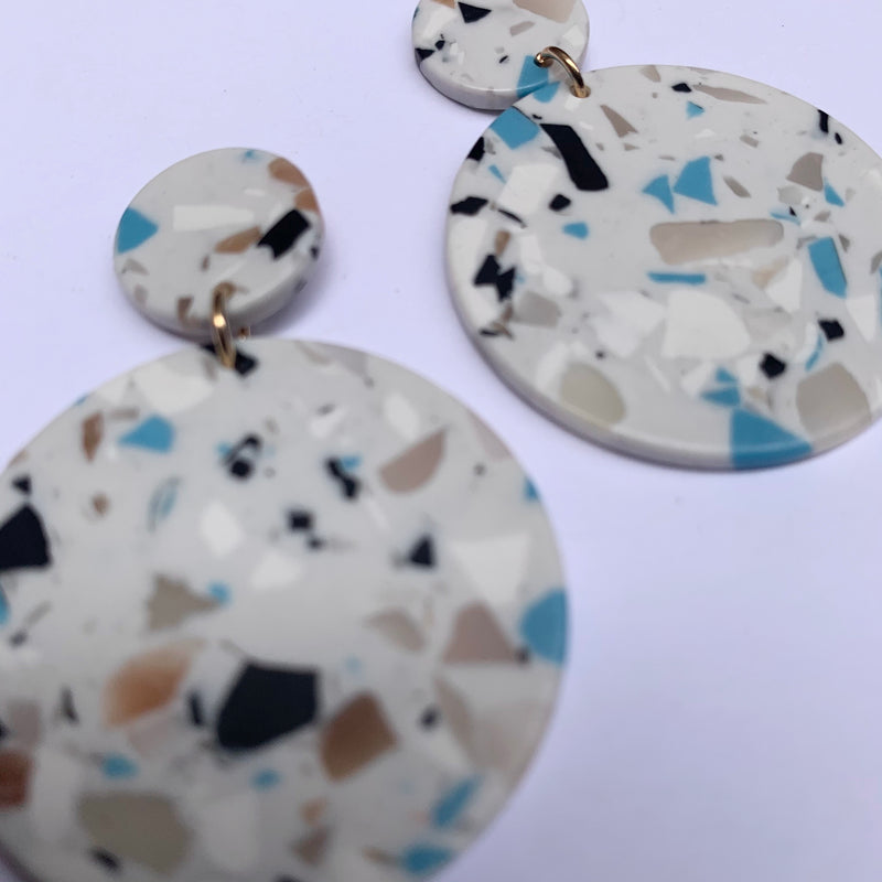 Venus Marble Earrings