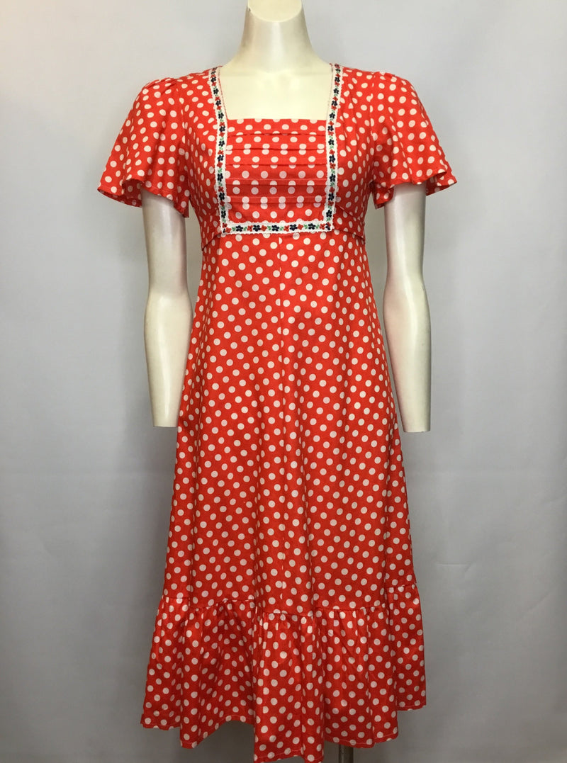 Polka Dot Festival Dress