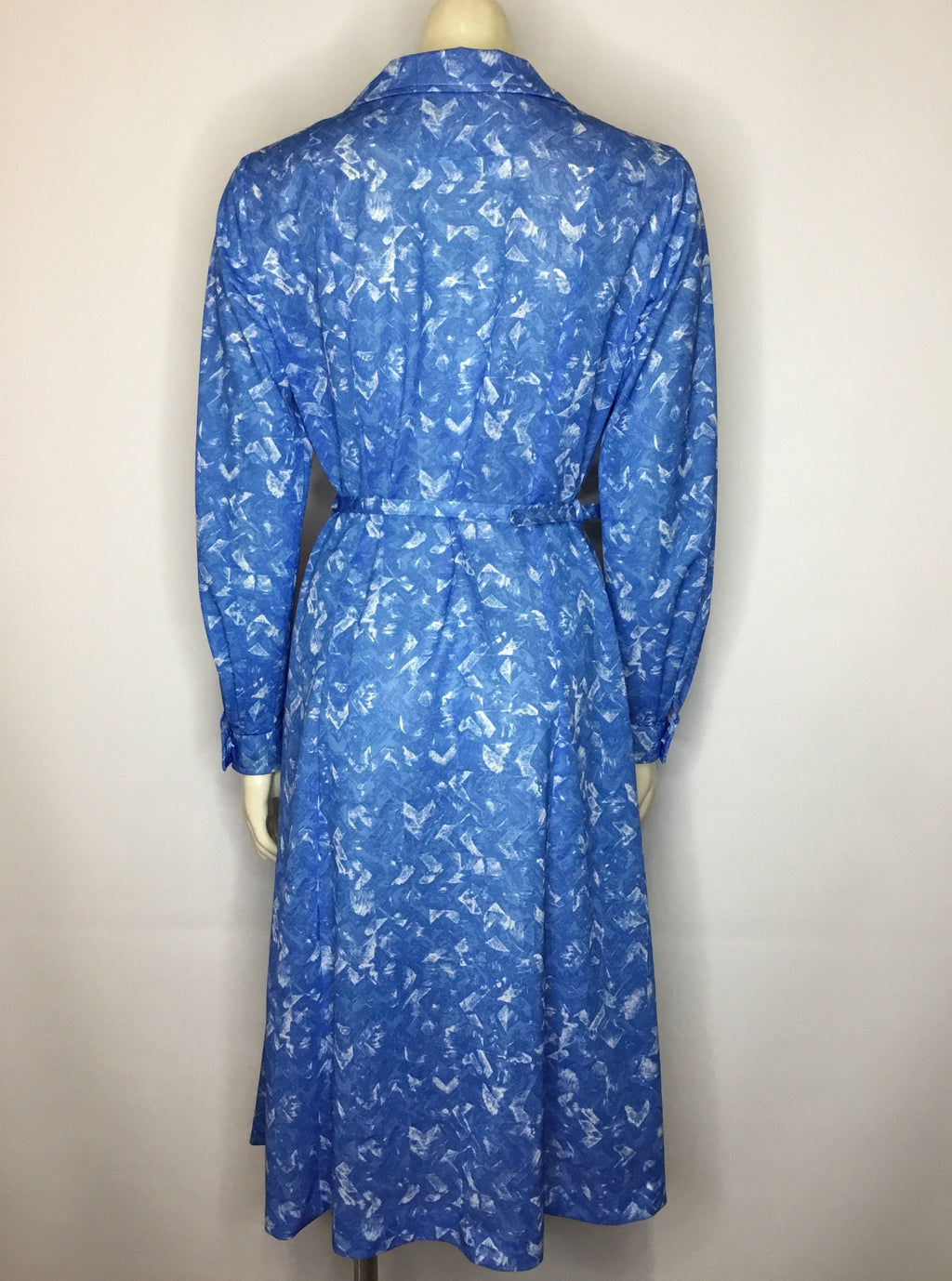 Antonia Blue Dress - AS IS - discolouration