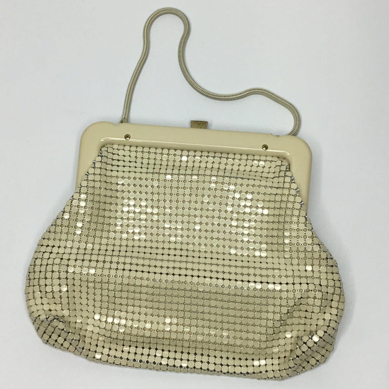 Authentic Beige Glomesh Bag