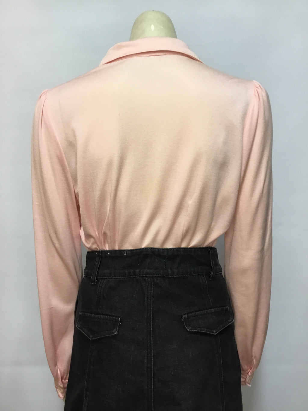 Baby Pink 70s Blouse