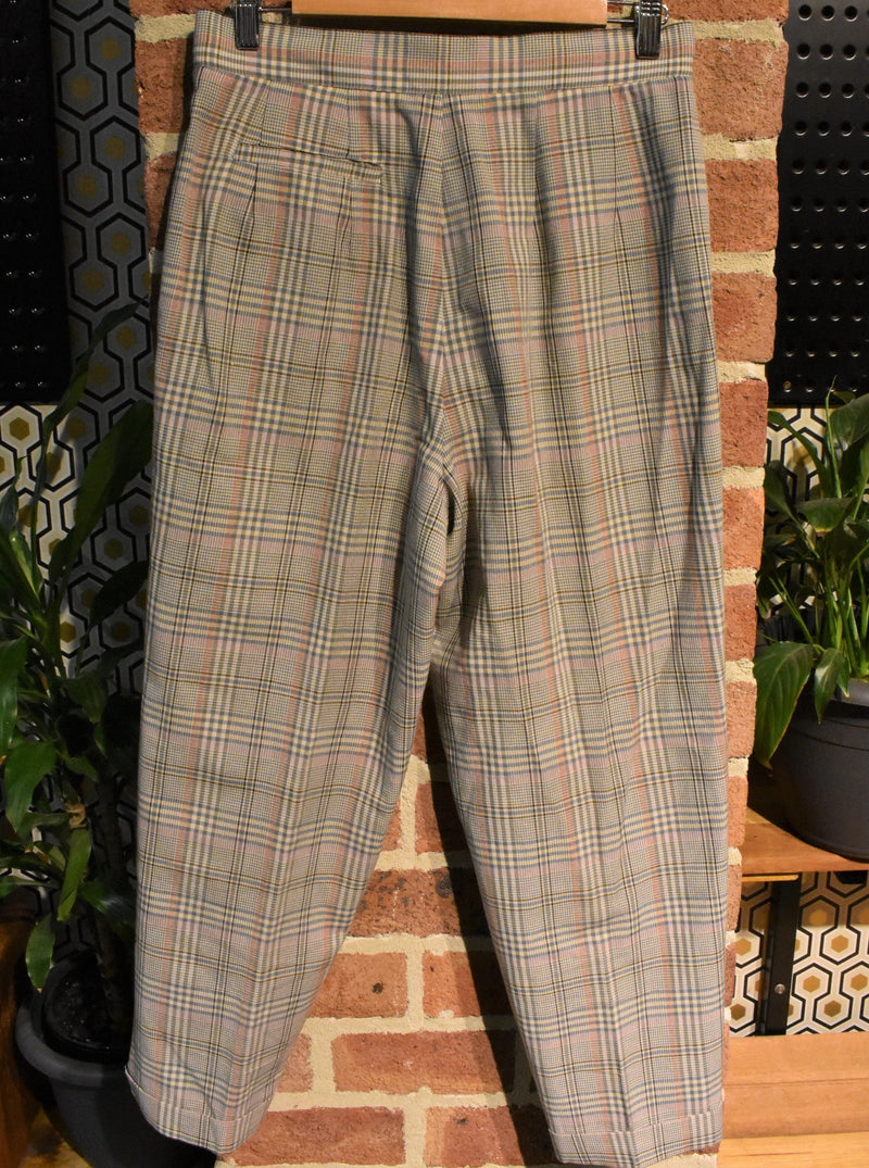 Belted Beauty Tartan Pants