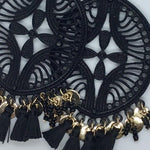 Black Magnifique Earrings