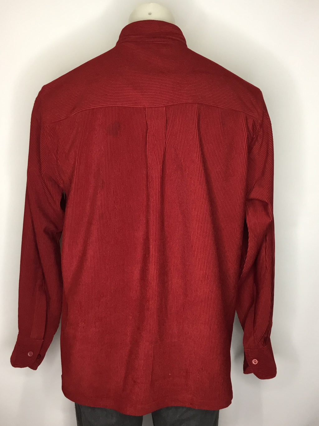 Blood Red Cord Shirt