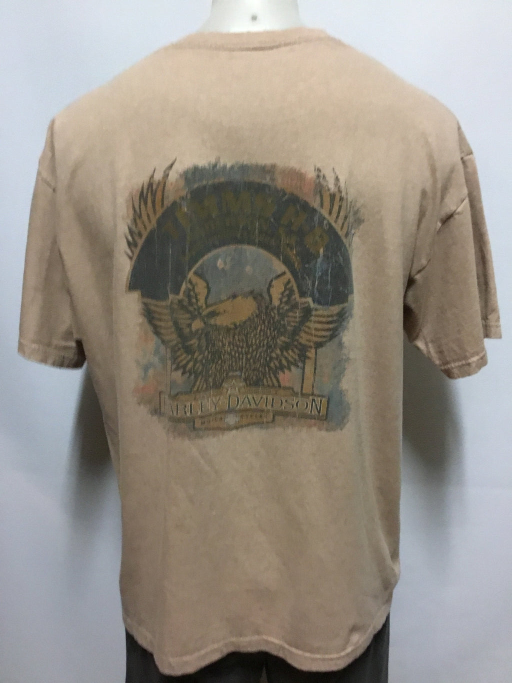 Brown Eagle Harley Tee