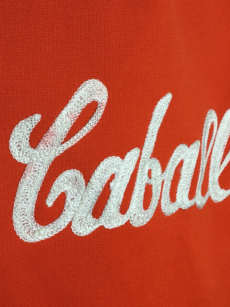 Caballeras Red Cheerleader Top