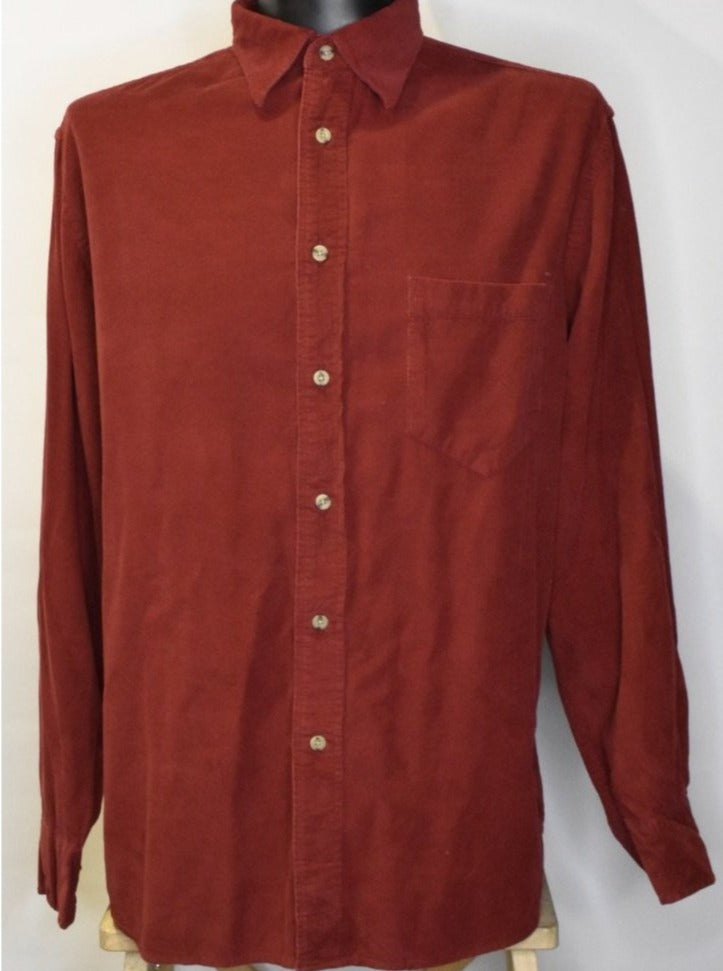 Cherry Cola Cord Shirt