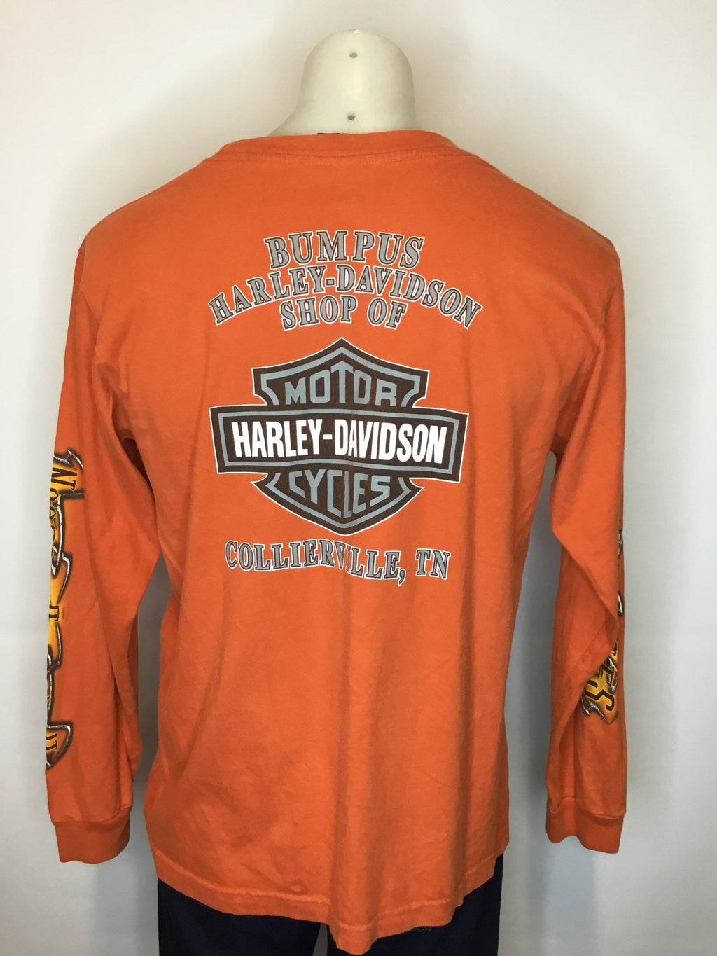 Orange Collierville Harley