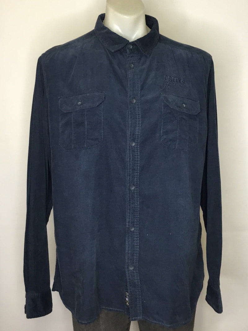 Creeks Blue Cord Shirt