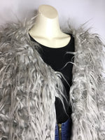 Faux Fur Grey Vest