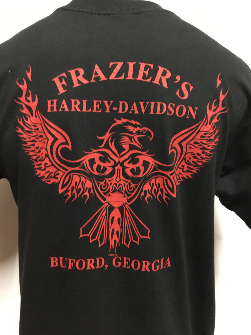 Flaming Frazier's Harley
