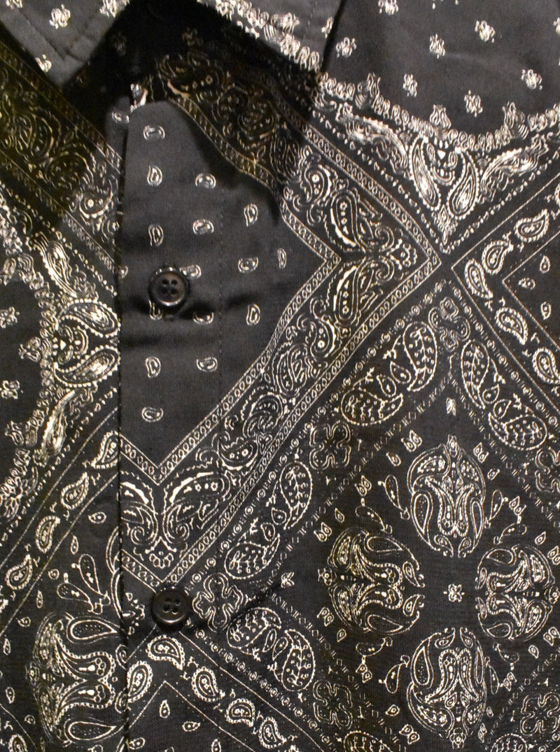 Gothic Paisley Party Shirt