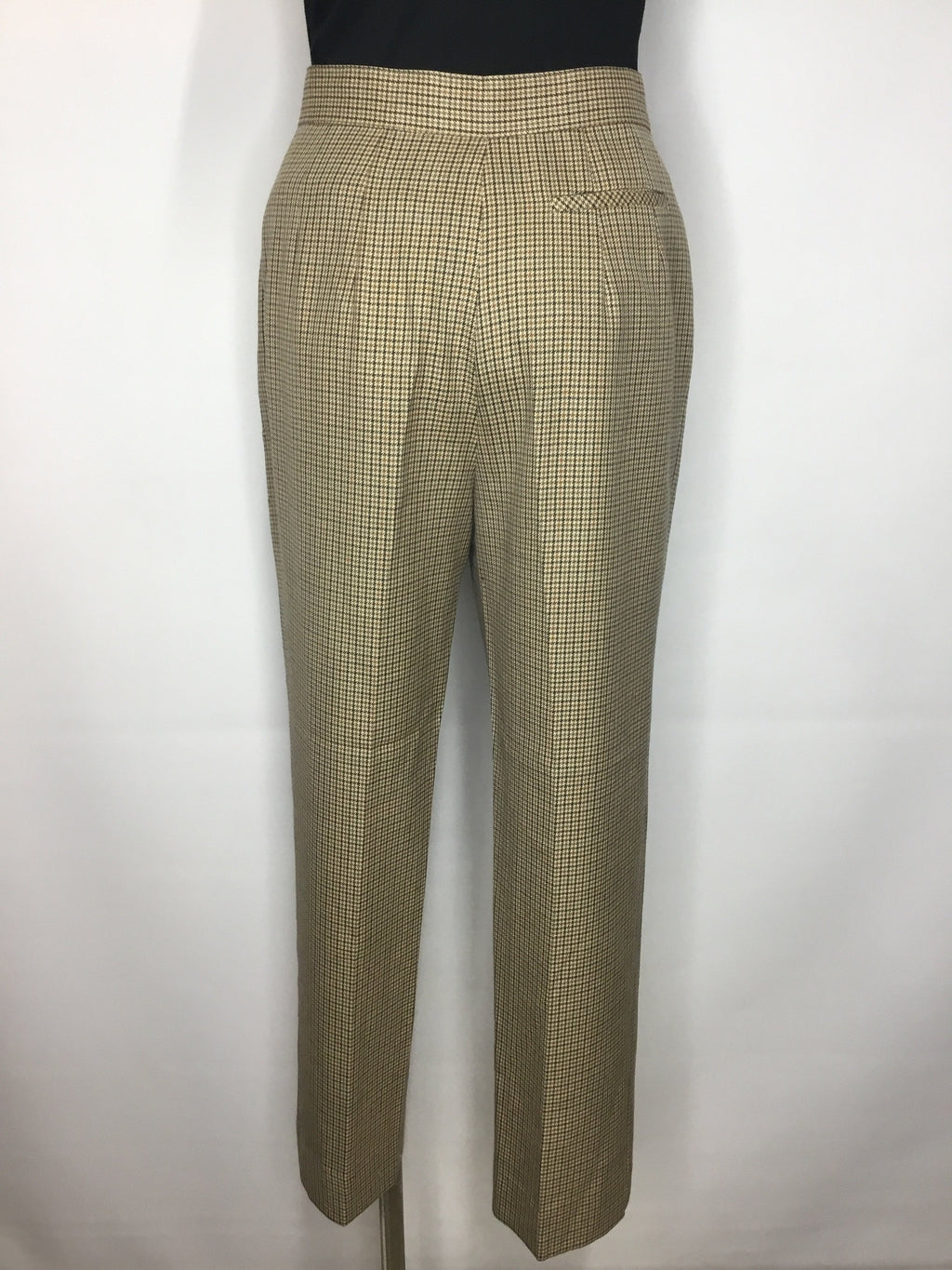 Houndstooth Camel Pants