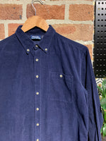 Midnight Blue Cord Shirt