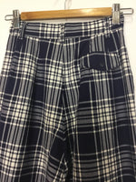 Navy Night Tartan Pants