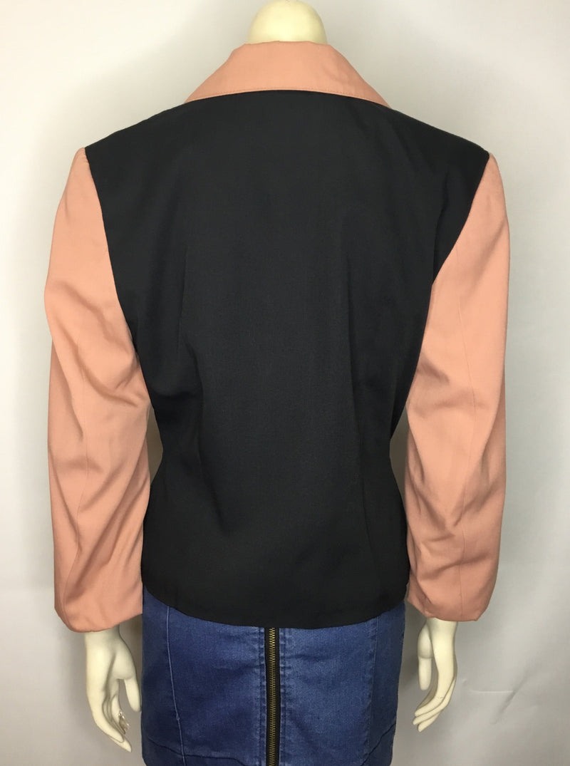 Pink and Black 80's Blazer
