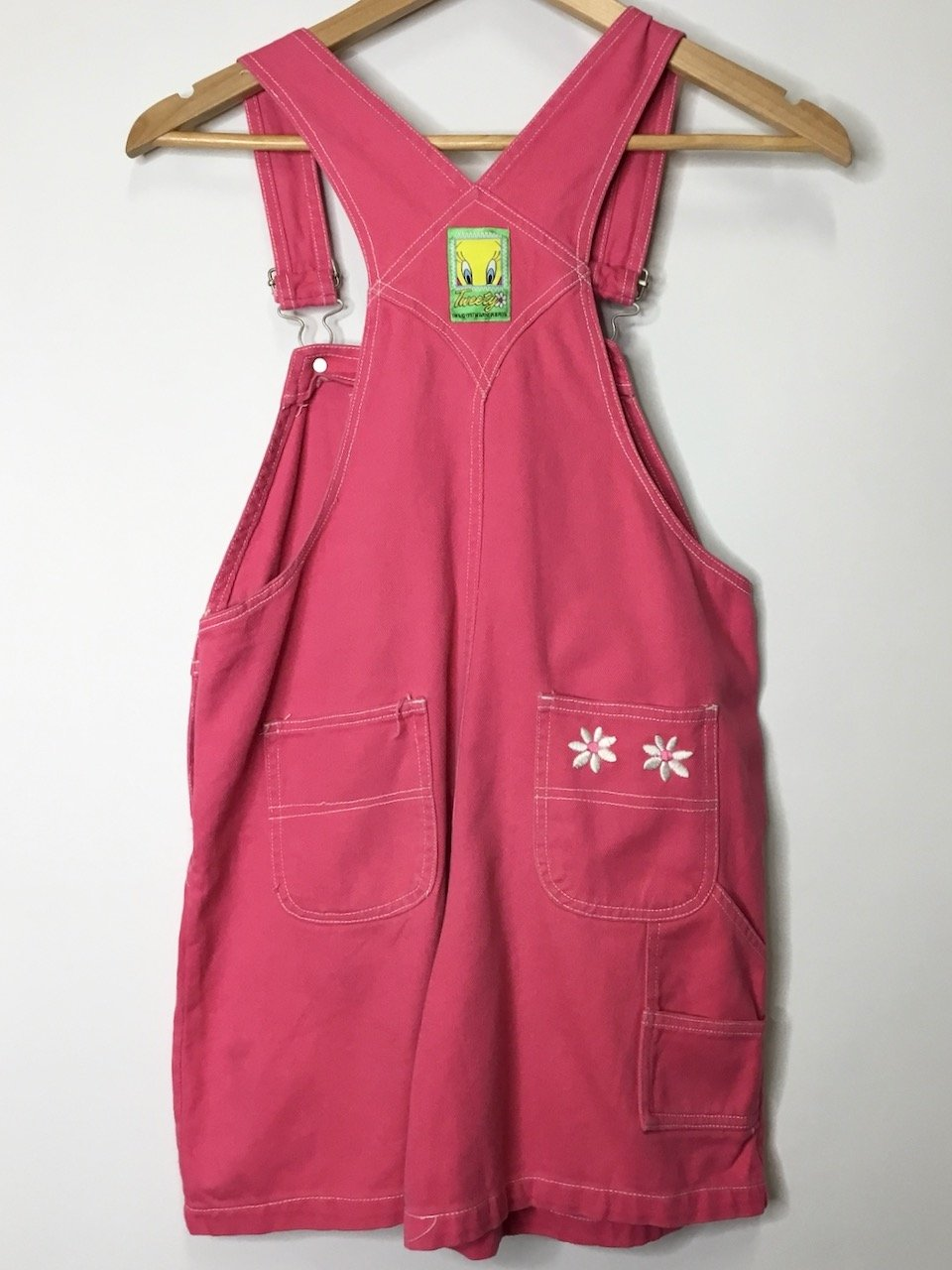 Pink Tweety Shorteralls