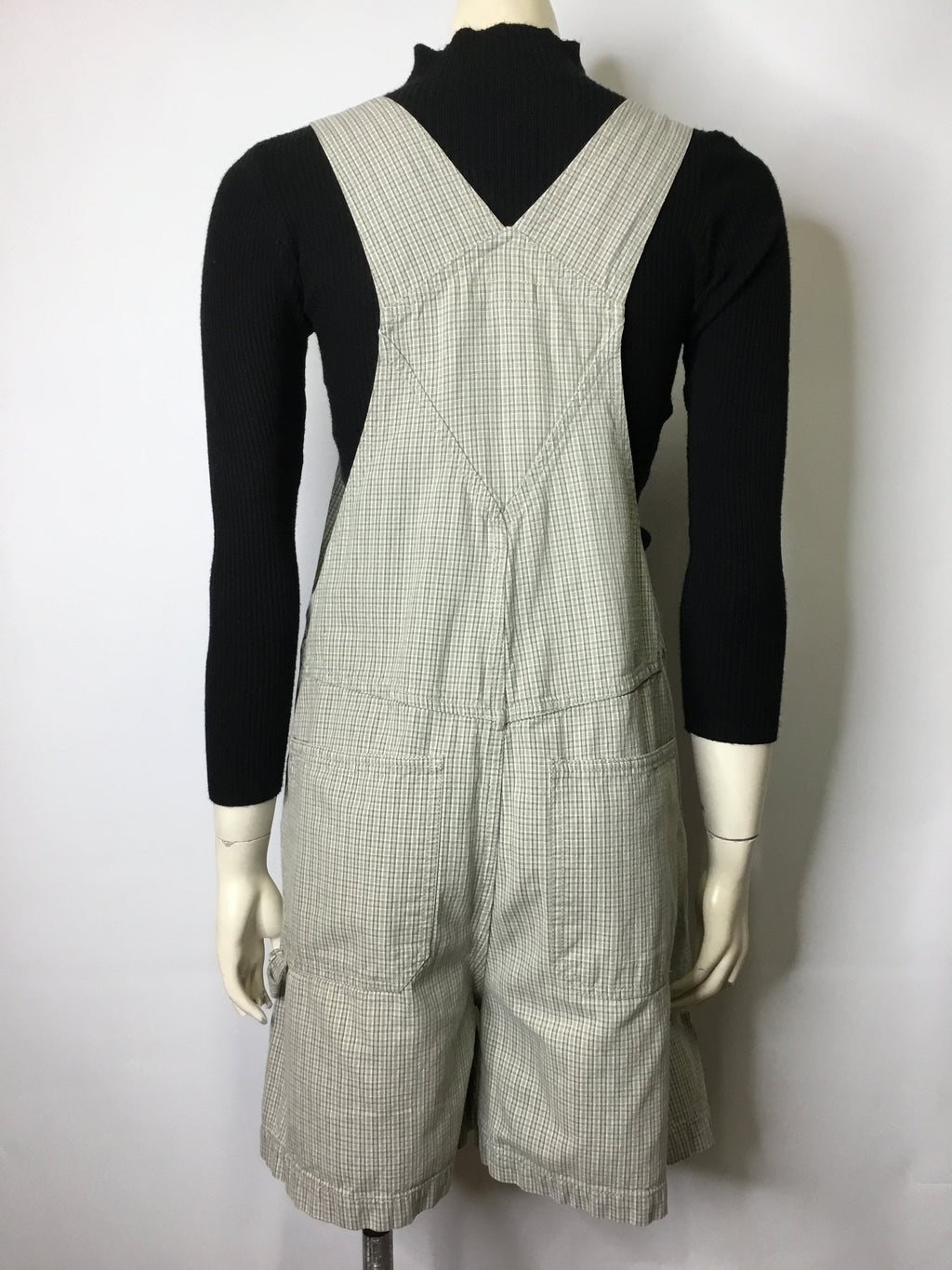 Plaid Cherokee Shorteralls