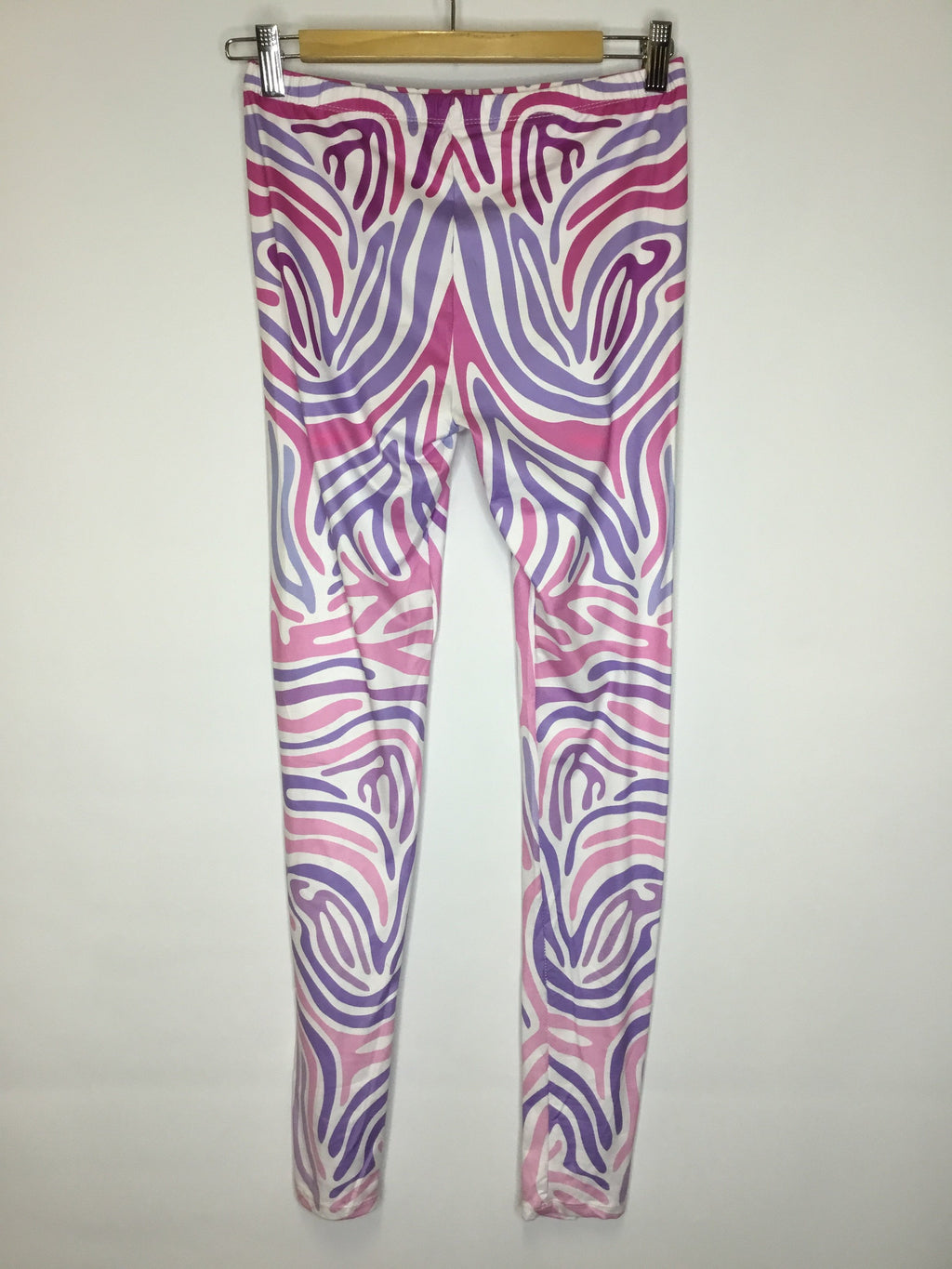 Purple Fingerprint Leggings