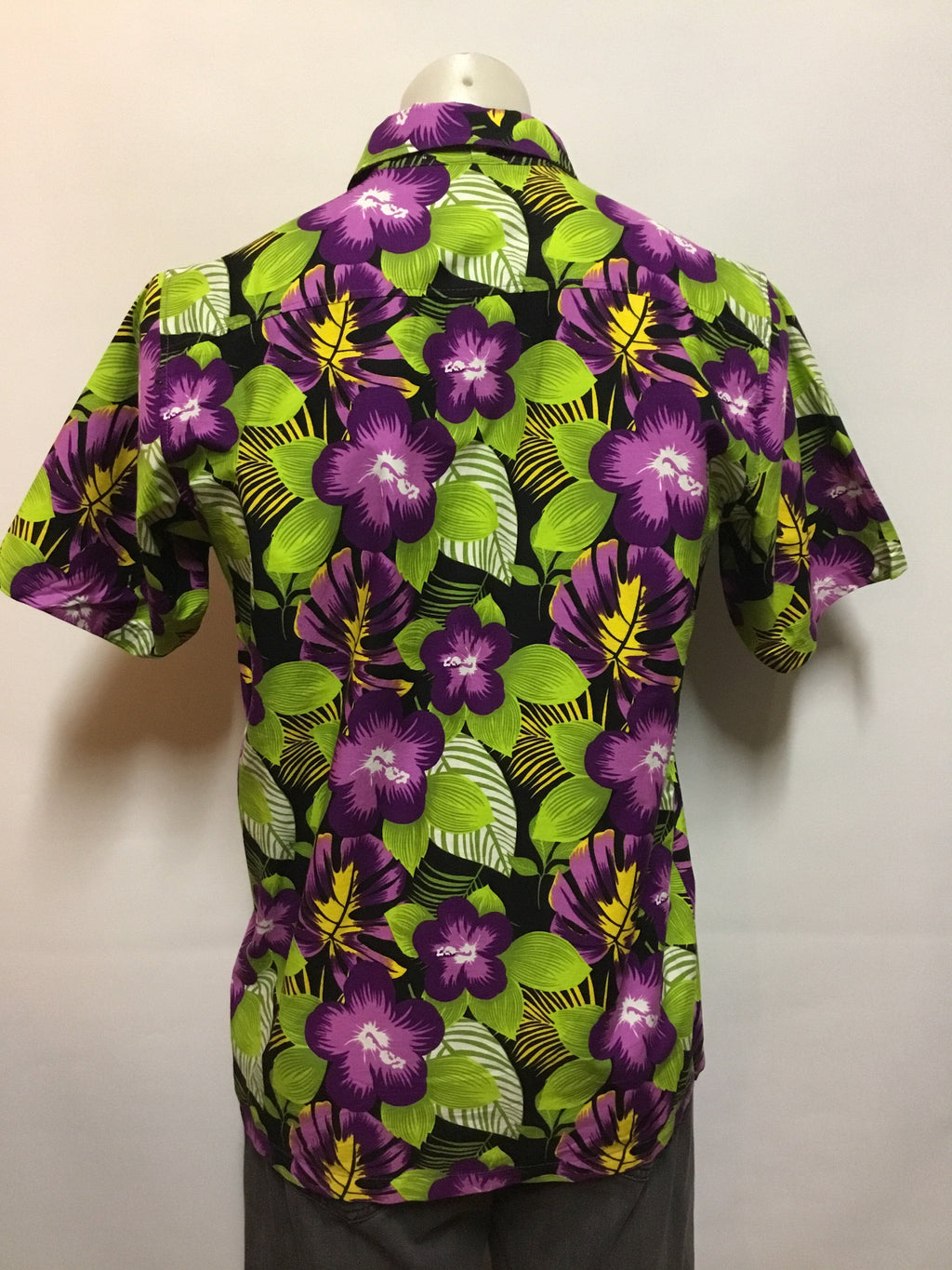 Purple Hibiscus Party Shirt