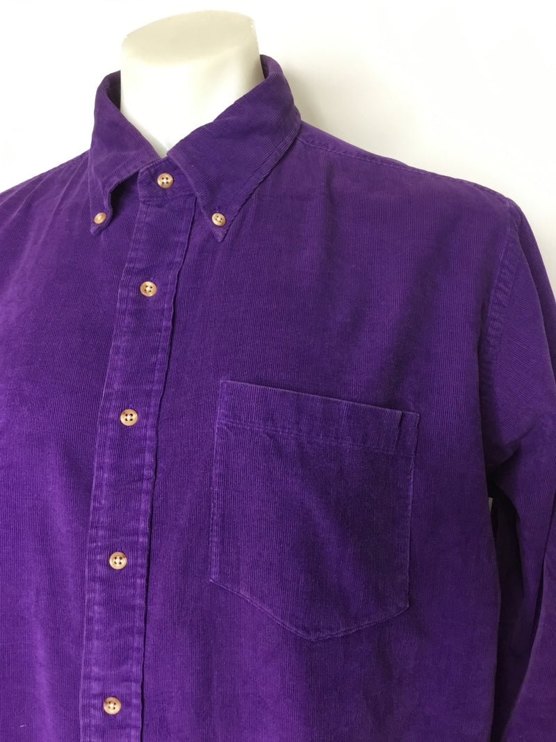 Purple Spring Cord Shirt