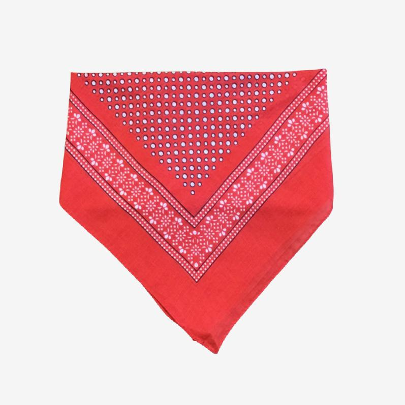 Red Spotty Bandana