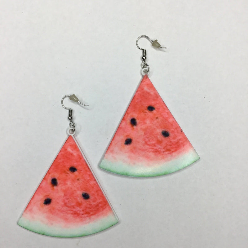 Refreshing Watermelon Earrings
