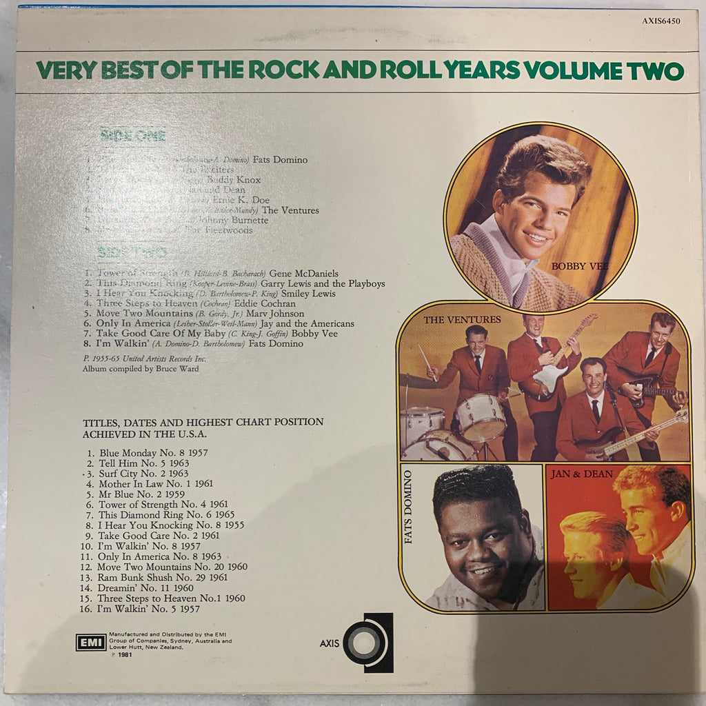 The Very Best of the Rock and Roll II