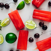 SONIC® CHERRY LIMEADE PRE-WORKOUT POPSICLES