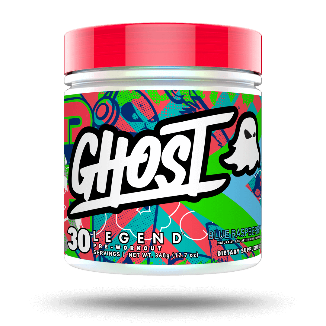 GHOST LEGEND Blue raspberry pre workout 30 servings
