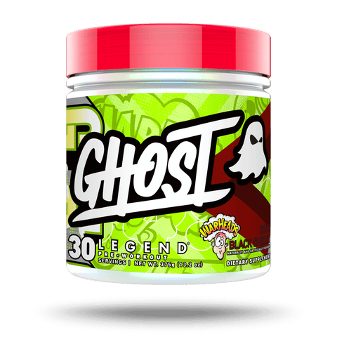 GHOST LEGEND X WARHEADS Sour Black Cherry pre workout 30 servings