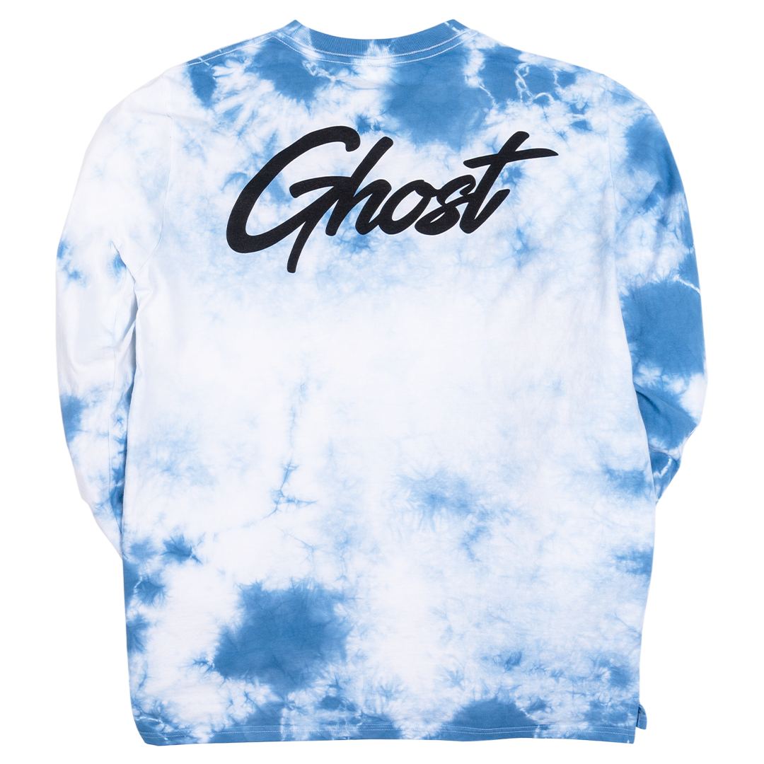 GHOST® TIE DYE LONG SLEEVE Blue