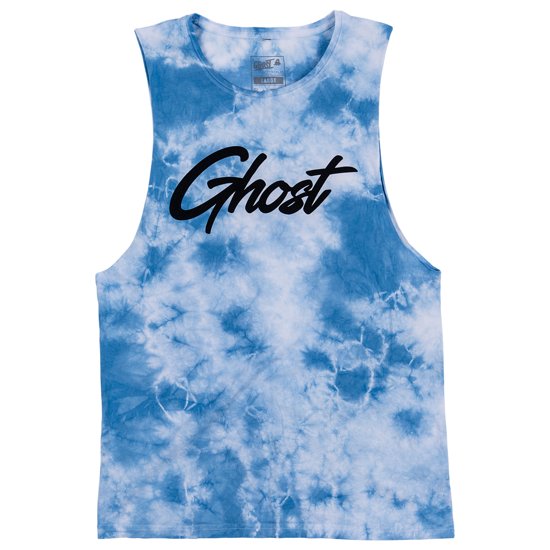 GHOST® TIE DYE SLEEVELESS TEE