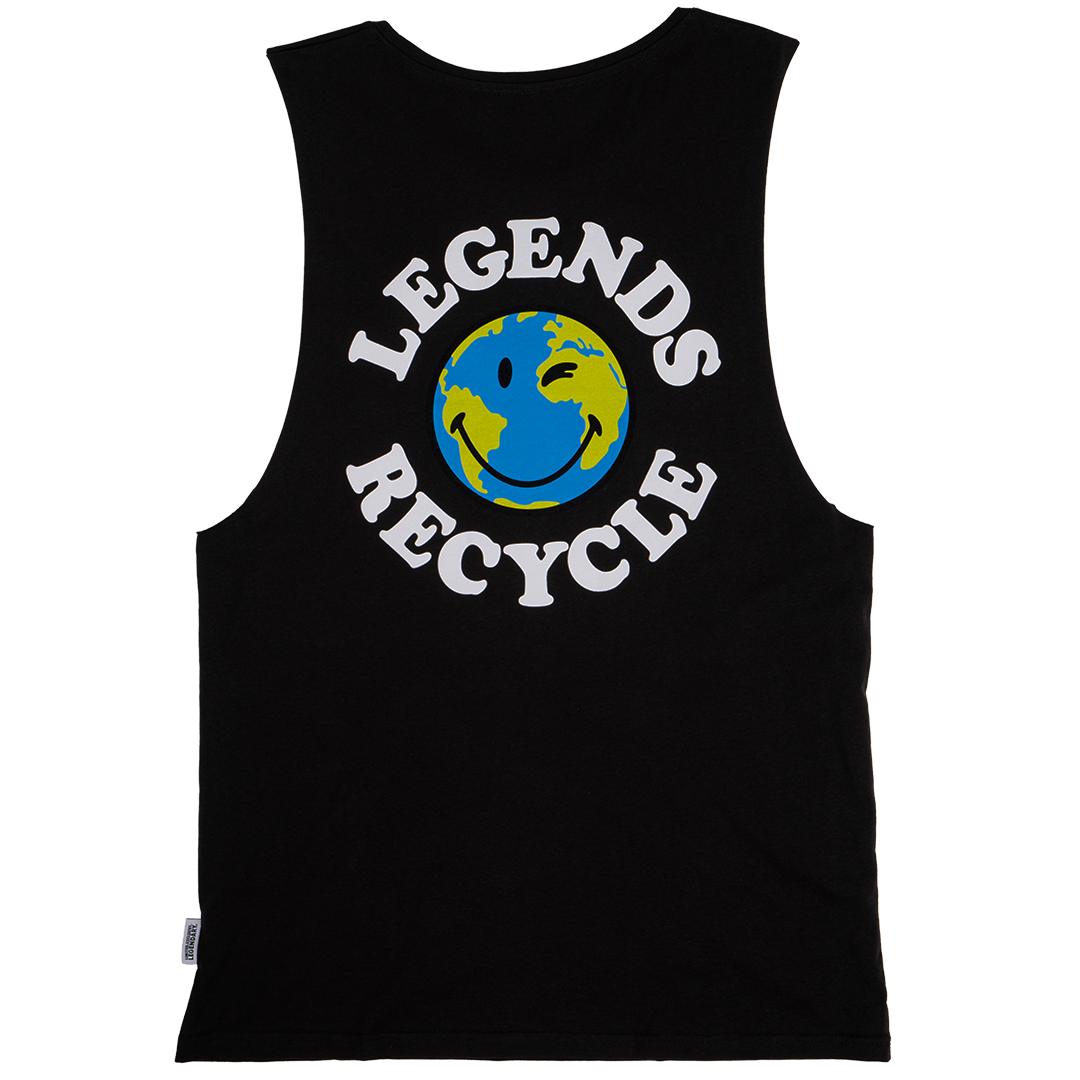 GHOST® RECYCLE SLEEVELESS TEE