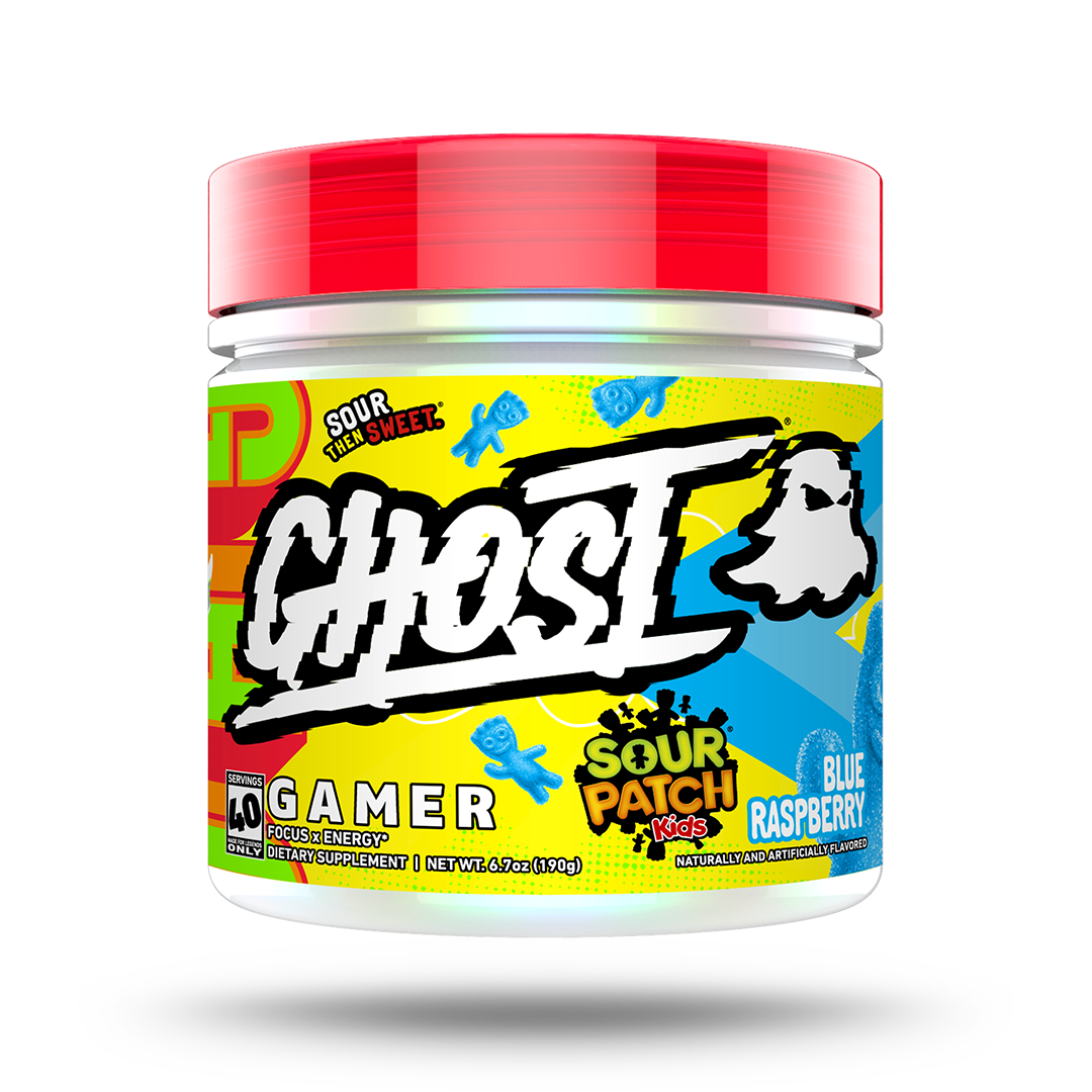 GHOST® GAMER x SOUR PATCH KIDS® BLUE RASPBERRY