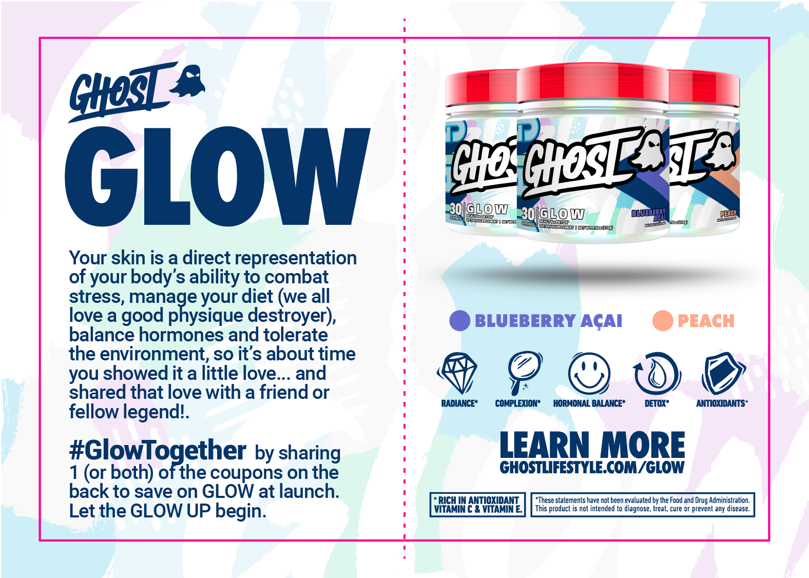 GHOST® GLOW TOGETHER COUPON Front