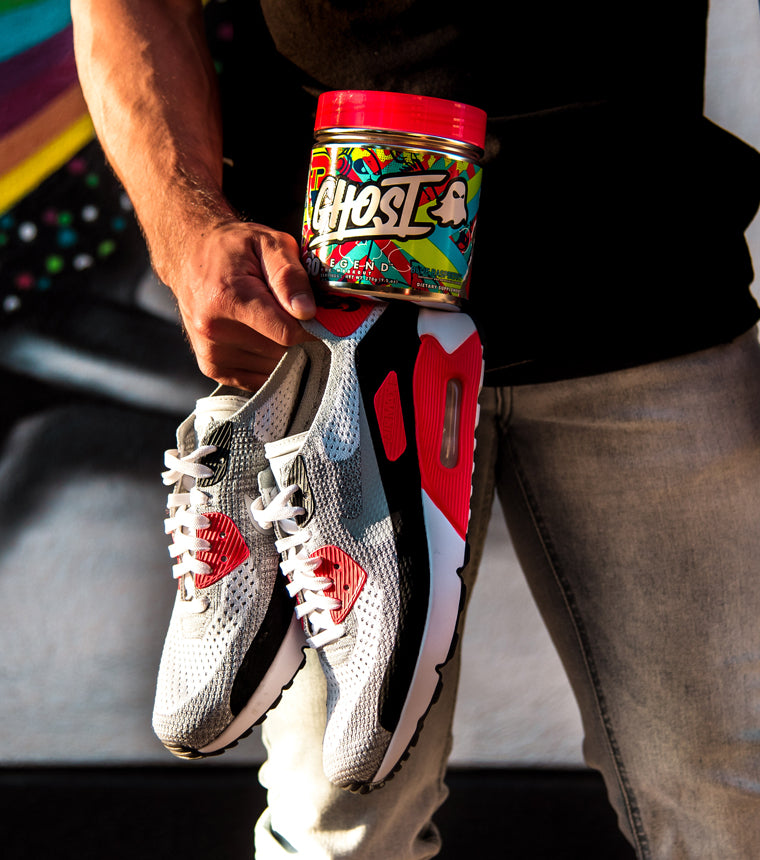 Legend pre workout with Nike Air Max Infrared Shoes