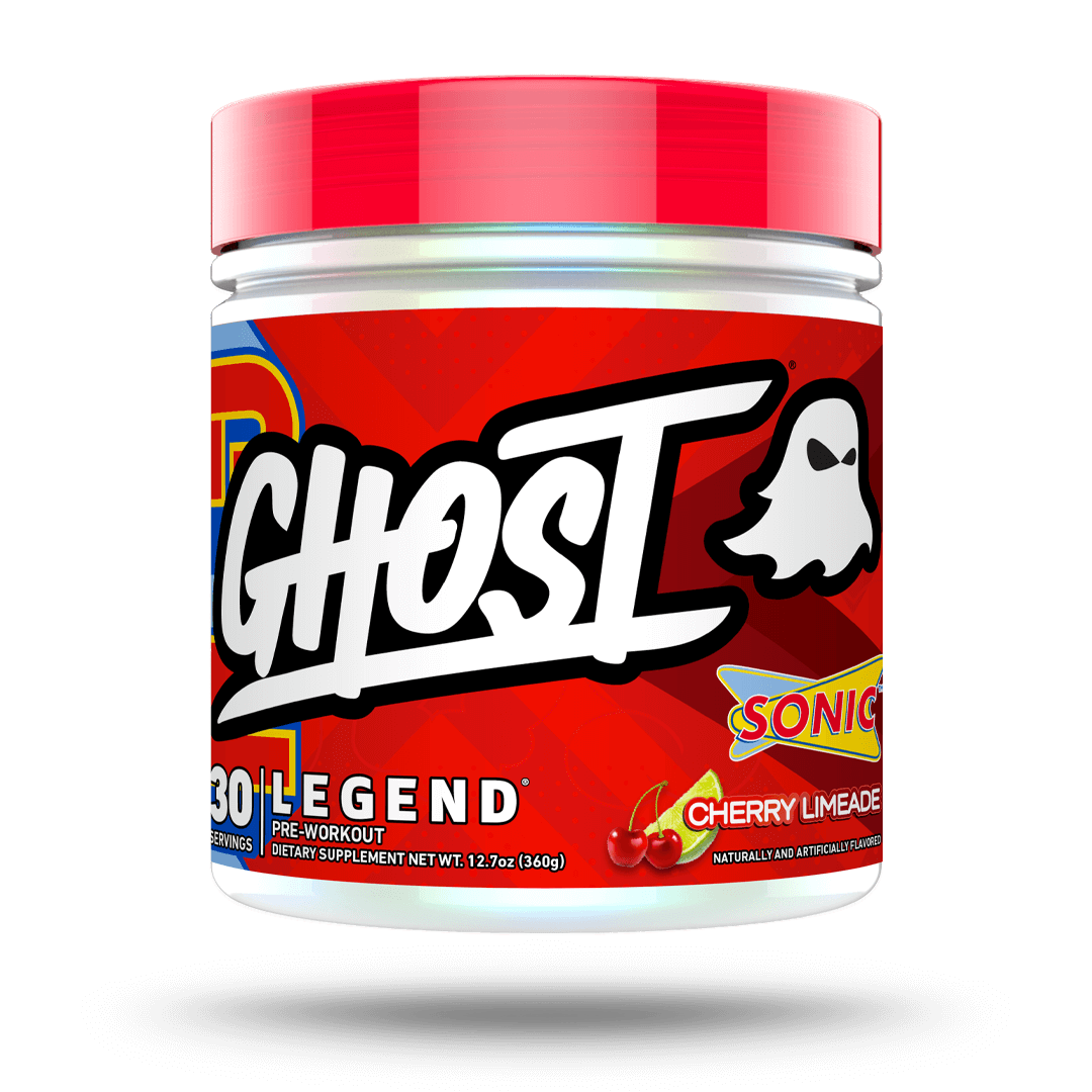 GHOST LEGEND® x SONIC® pre workout