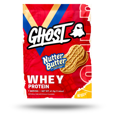 GHOST® WHEY SAMPLES Nutter Butter