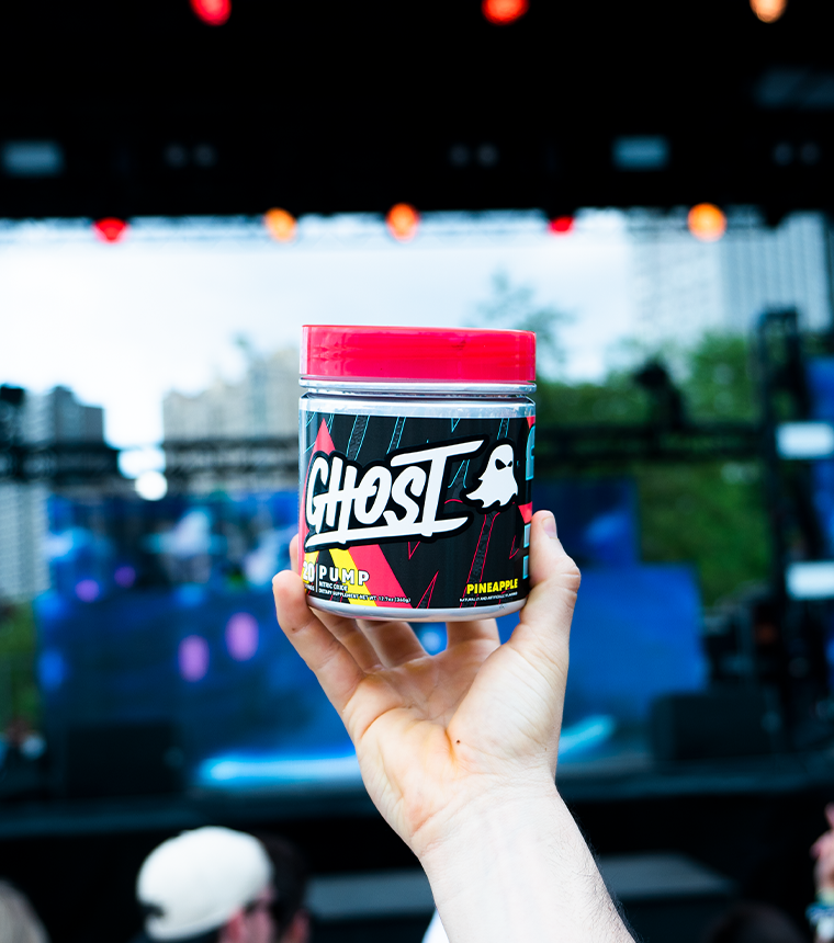 GHOST® PUMP stim free pre workout