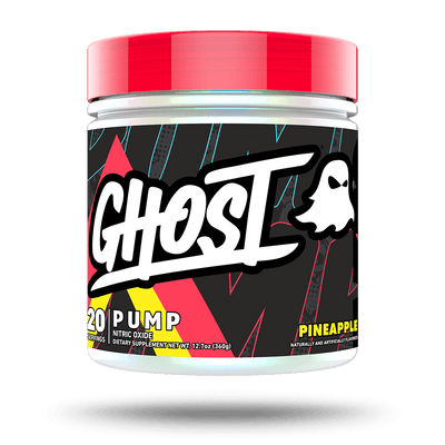 GHOST PUMP Pineapple flavor - 40 servings  stim free pre workout