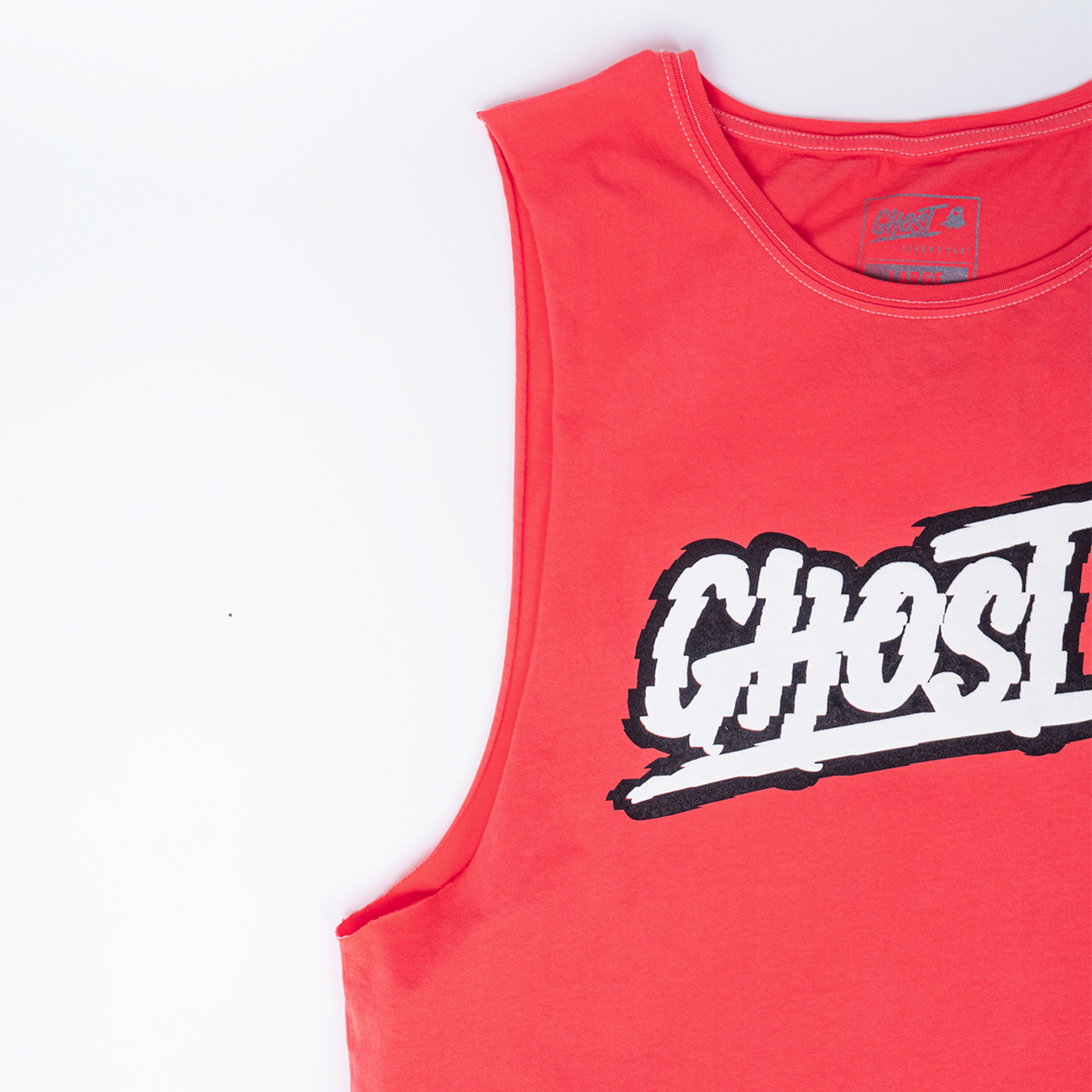 Apparel |GHOST® GLITCH SLEEVELESS TEE