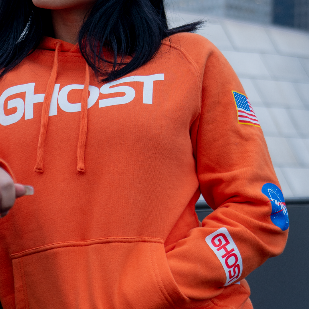 Apparel |GHOST® SPACE HOODIE Lunar Orange