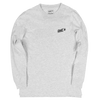 GHOST Basics Long Sleeve White Heather